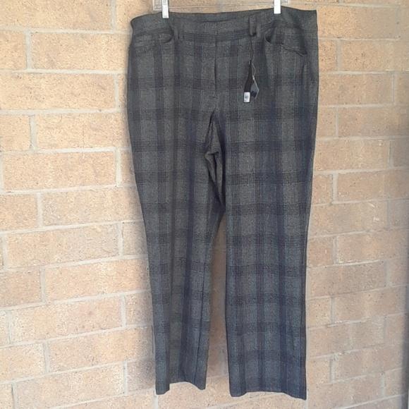 NWT Lane Bryant The Sophie Black Dress Pants Size 26 regular